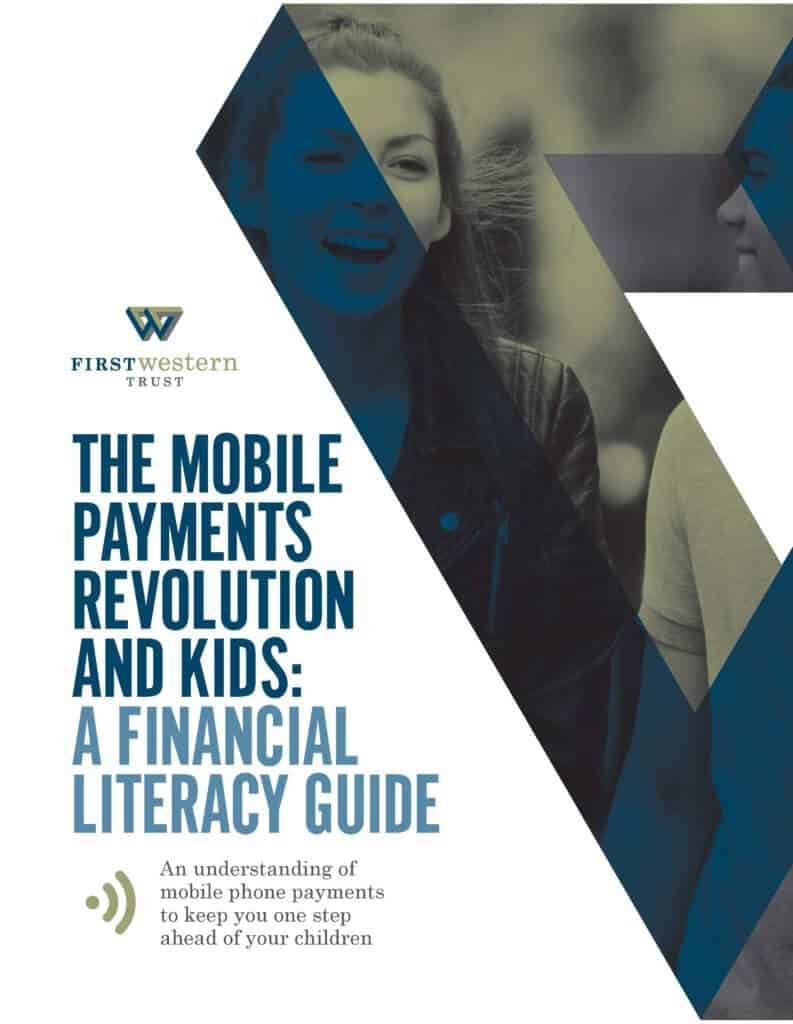 A Financial literacy guide cover graphic